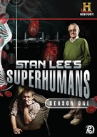 """Stan Lee's Superhumans"" - DVD cover (xs thumbnail)"