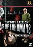 """Stan Lee's Superhumans"" - DVD movie cover (xs thumbnail)"
