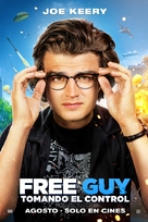 Free Guy - Mexican Movie Poster (xs thumbnail)