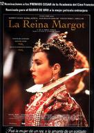 La reine Margot - Spanish Movie Poster (xs thumbnail)