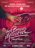 As Boas Maneiras - French Movie Poster (xs thumbnail)