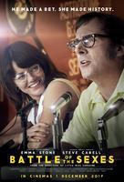 Battle of the Sexes - South African Movie Poster (xs thumbnail)