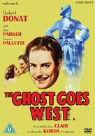 The Ghost Goes West - British DVD cover (xs thumbnail)