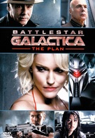 Battlestar Galactica: The Plan - DVD cover (xs thumbnail)