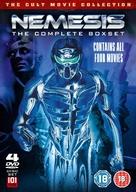 Nemesis III: Prey Harder - British DVD movie cover (xs thumbnail)