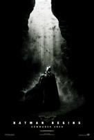 Batman Begins - Swedish Movie Poster (xs thumbnail)