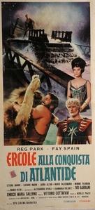Ercole alla conquista di Atlantide - Italian Movie Poster (xs thumbnail)