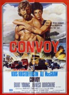 Convoy - Danish Movie Poster (xs thumbnail)