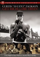 Get Rich or Die Tryin' - German DVD cover (xs thumbnail)
