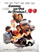 Comme un pot de fraises!.. - French Movie Poster (xs thumbnail)