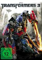 Transformers: Dark of the Moon - German DVD cover (xs thumbnail)