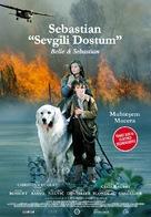 Belle et Sébastien - Turkish Movie Poster (xs thumbnail)