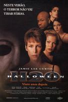 Halloween H20: 20 Years Later - Brazilian Movie Poster (xs thumbnail)