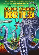 20,000 Leagues Under the Sea - DVD cover (xs thumbnail)