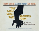 The Man with the Golden Arm - British Movie Poster (xs thumbnail)