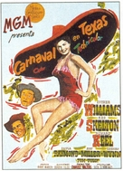 Texas Carnival - Spanish Movie Poster (xs thumbnail)