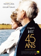 45 Years - French Movie Poster (xs thumbnail)