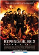 The Expendables 2 - Slovak Movie Poster (xs thumbnail)