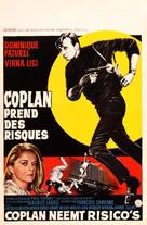 Coplan prend des risques - Belgian Movie Poster (xs thumbnail)