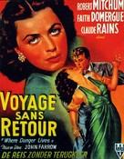 Where Danger Lives - Belgian Movie Poster (xs thumbnail)