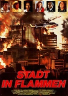 City on Fire - German Movie Poster (xs thumbnail)