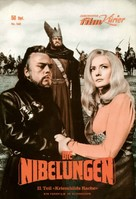 Die Nibelungen, Teil 2 - Kriemhilds Rache - German poster (xs thumbnail)