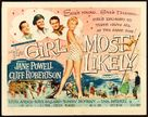The Girl Most Likely - Movie Poster (xs thumbnail)