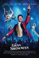 The Greatest Showman - Colombian Movie Poster (xs thumbnail)