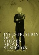 Indagine su un cittadino al di sopra di ogni sospetto - British Movie Cover (xs thumbnail)