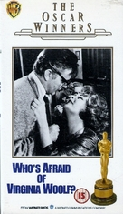 Who's Afraid of Virginia Woolf? - British VHS cover (xs thumbnail)