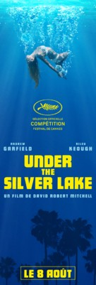 Under the Silver Lake - French Movie Poster (xs thumbnail)