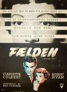 The Secret Fury - Danish Movie Poster (xs thumbnail)