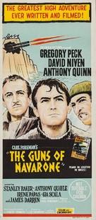 The Guns of Navarone - Australian Movie Poster (xs thumbnail)