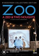 A Zed & Two Noughts - Australian DVD movie cover (xs thumbnail)