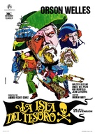 Treasure Island - Spanish Movie Poster (xs thumbnail)