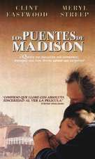 The Bridges Of Madison County - Spanish VHS cover (xs thumbnail)