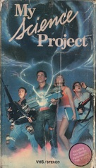 My Science Project - VHS cover (xs thumbnail)