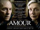 Amour - British Movie Poster (xs thumbnail)