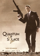 Quantum of Solace - Argentinian Movie Poster (xs thumbnail)