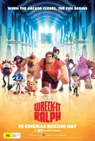 Wreck-It Ralph - Australian Movie Poster (xs thumbnail)