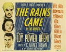 The Rains Came - Movie Poster (xs thumbnail)