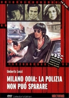 Milano odia: la polizia non può sparare - Italian DVD cover (xs thumbnail)