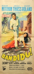Bandido - Italian Movie Poster (xs thumbnail)