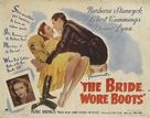 The Bride Wore Boots - Movie Poster (xs thumbnail)