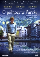 Midnight in Paris - Polish DVD movie cover (xs thumbnail)