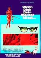 Once You Kiss a Stranger... - German Movie Poster (xs thumbnail)