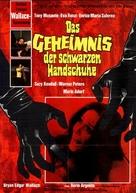 L'uccello dalle piume di cristallo - German Movie Poster (xs thumbnail)