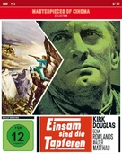 Lonely Are the Brave - German Blu-Ray cover (xs thumbnail)