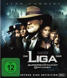 The League of Extraordinary Gentlemen - German Blu-Ray cover (xs thumbnail)