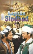 Captain Sindbad - German VHS movie cover (xs thumbnail)